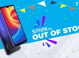 TECNO Spark Go Sold Out After Being Released