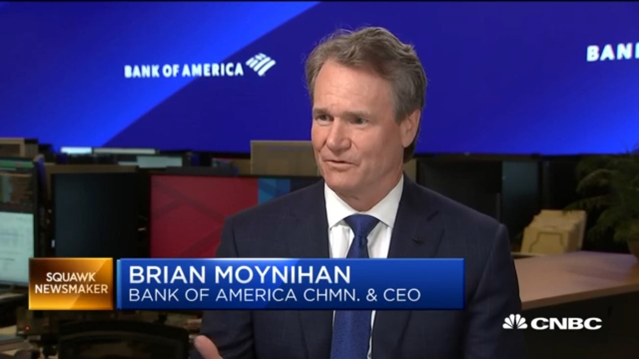 Brian Moynihan Cut 100 Basis Points