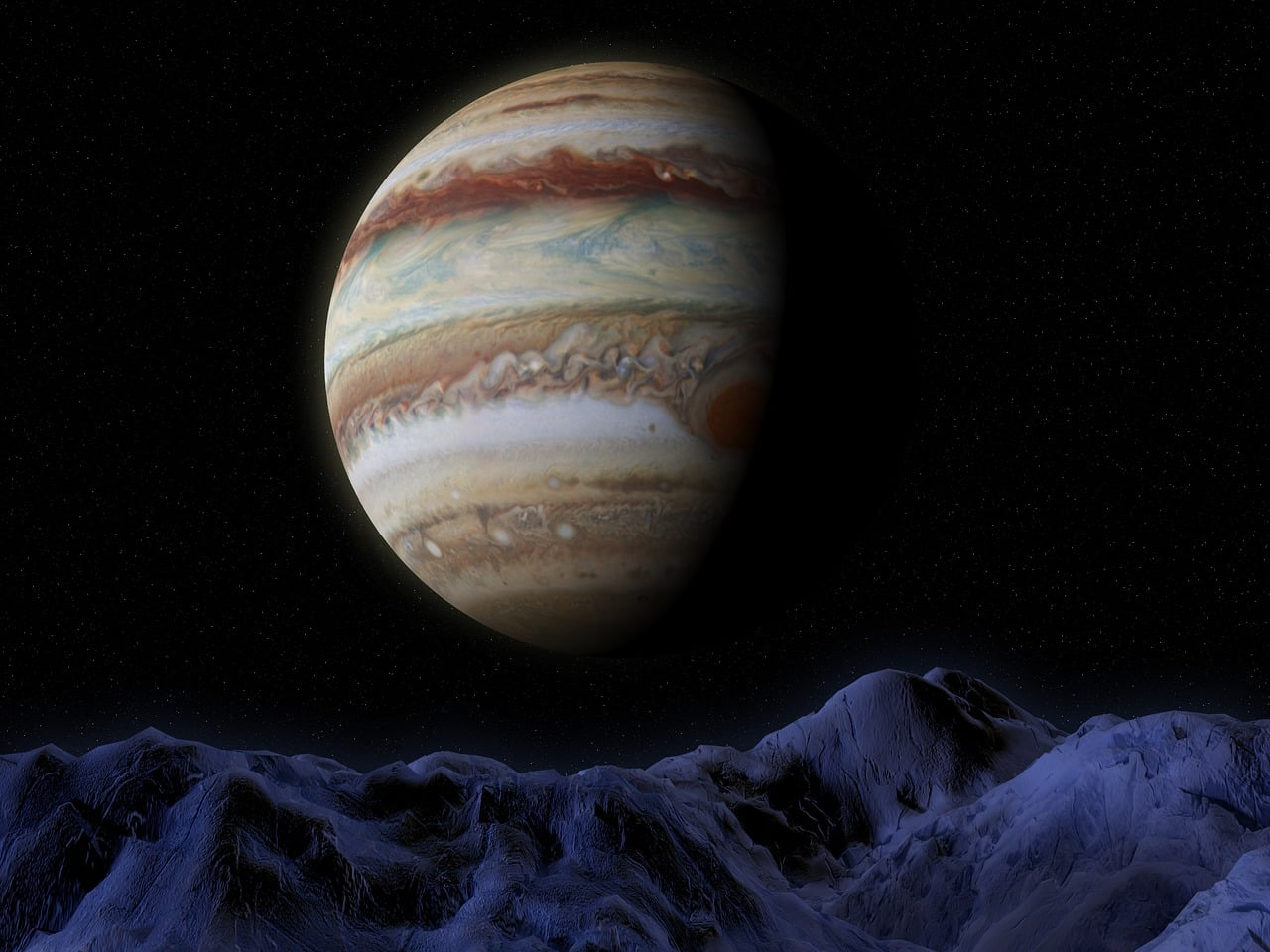 Young Jupiter Newborn Planet
