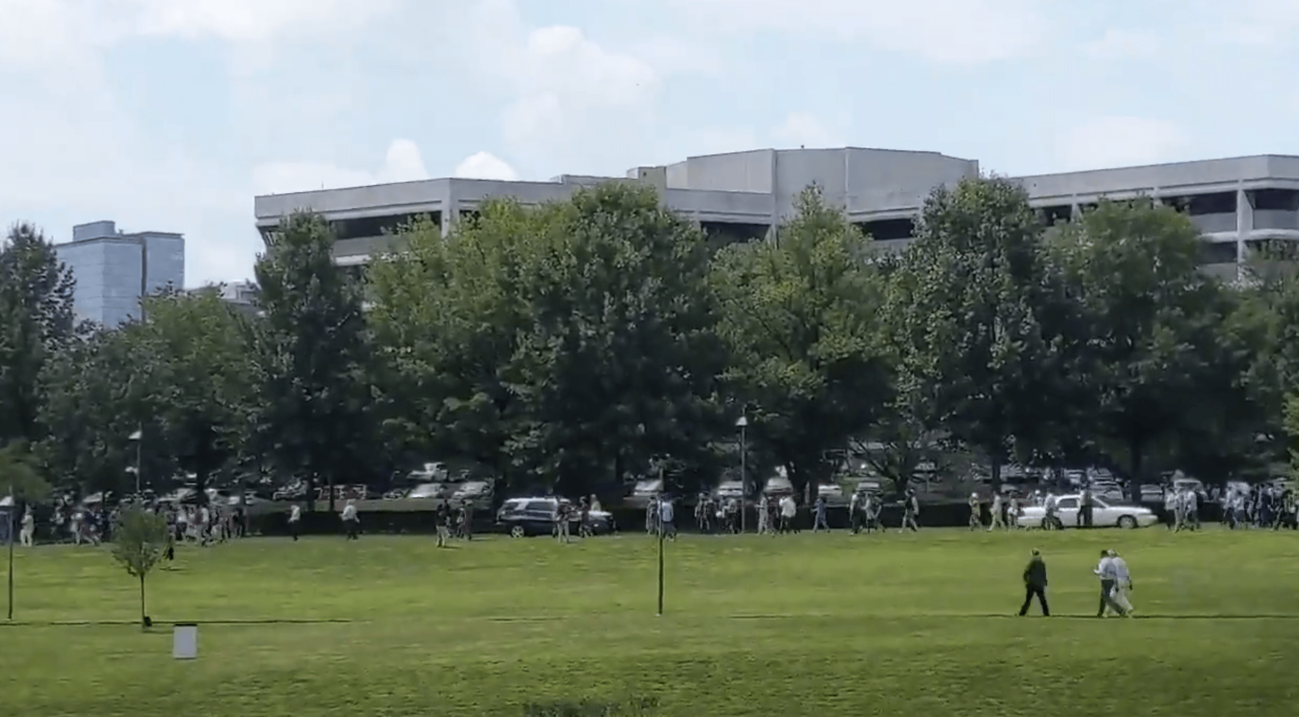 usa today headquarters shooting