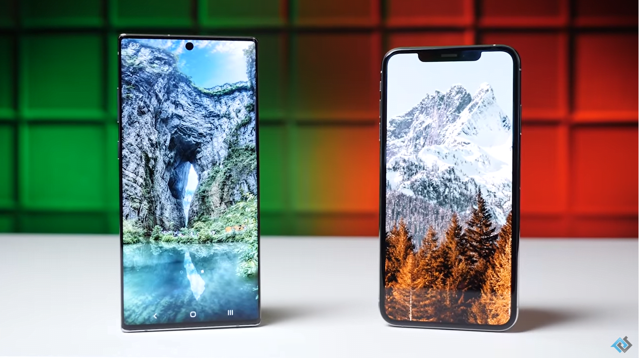 galaxy note 10 plus vs iphone xs max