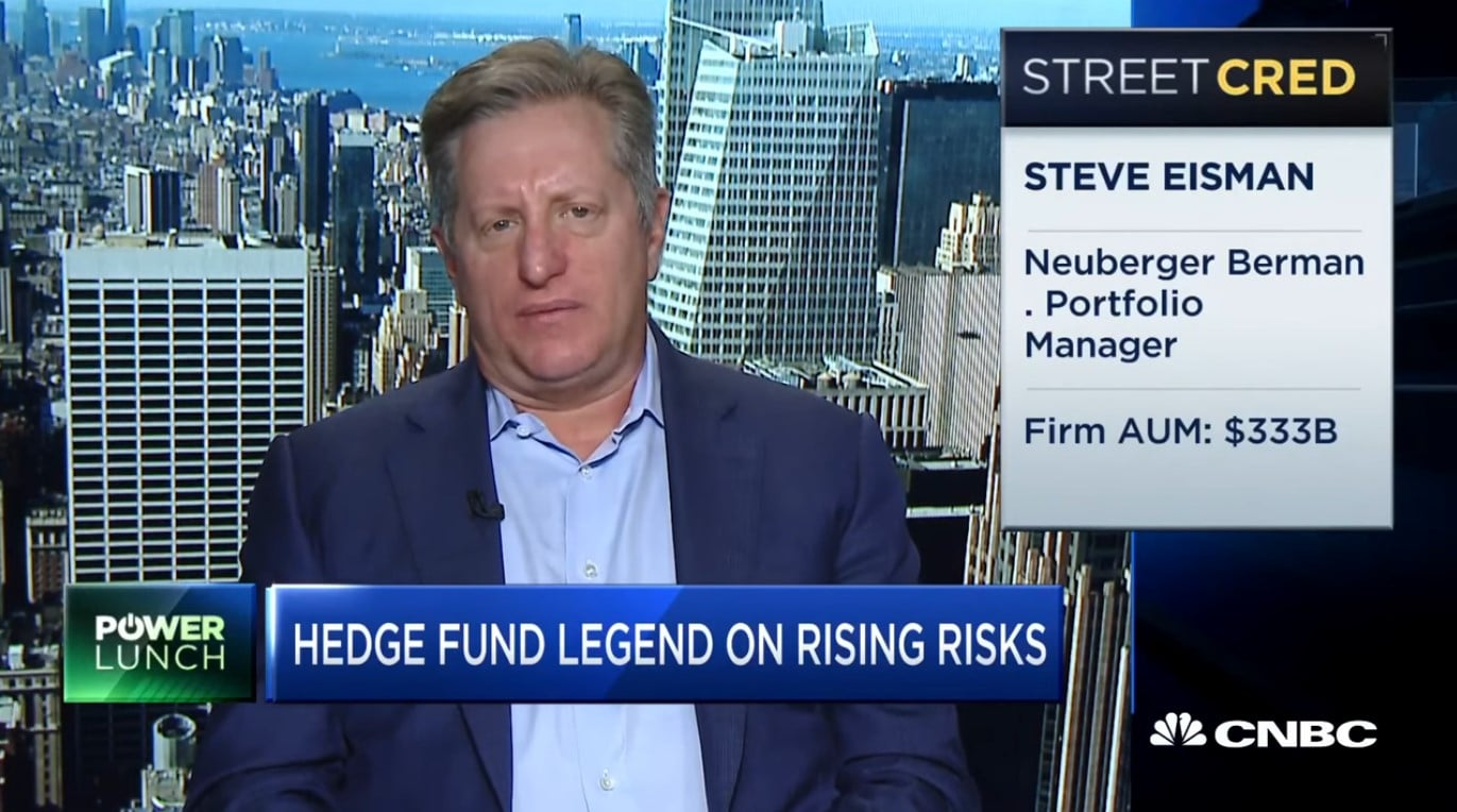 Steve Eisman danger to the system