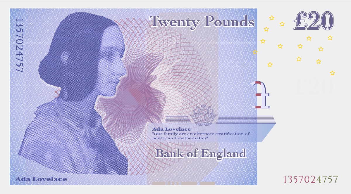 representation on banknotes