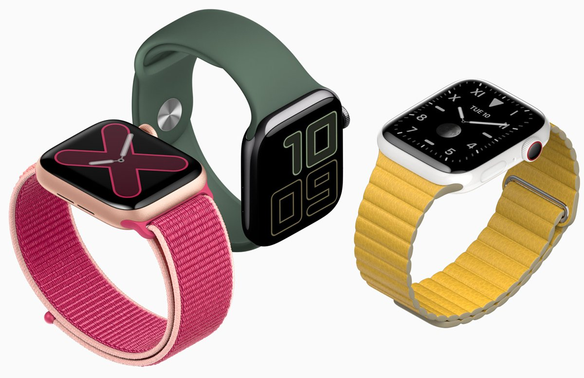 Apple Watch Series 5 box