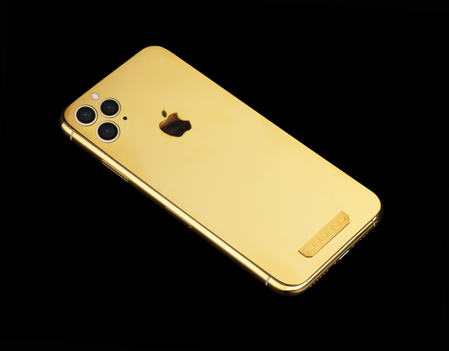24k gold iphone 11