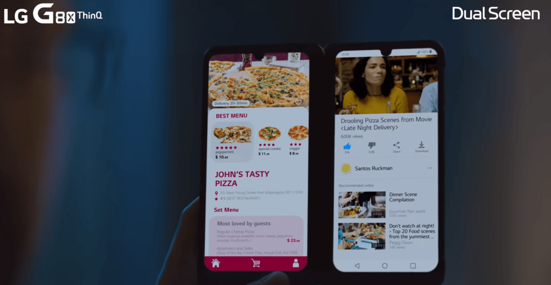 LG G8X Dual Screen vs Galaxy Fold: Which one is better?