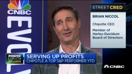 Chipotle CEO Brian Niccol