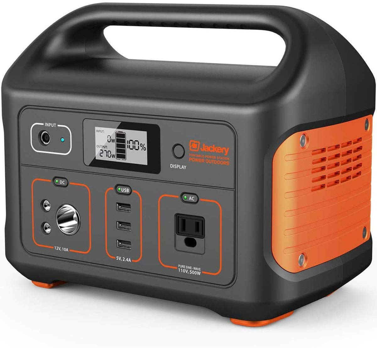 Jackery E500 power station