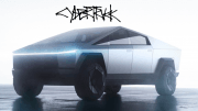 tesla electric pickup cybertruck