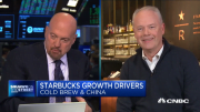 Starbucks CEO Kevin Johnson