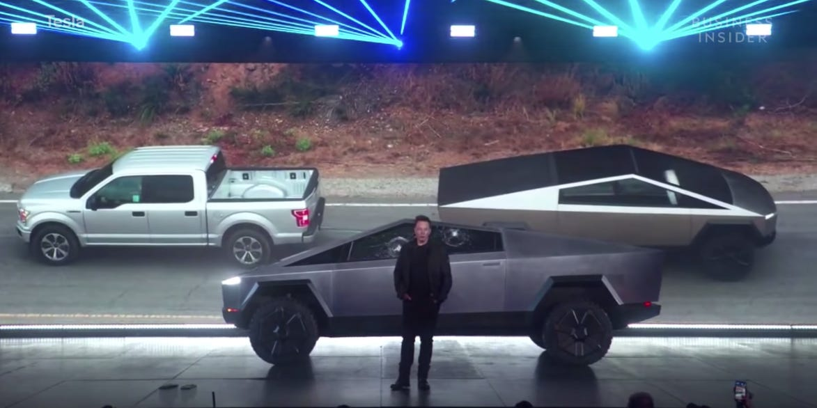Tesla Model X vs Ford F150