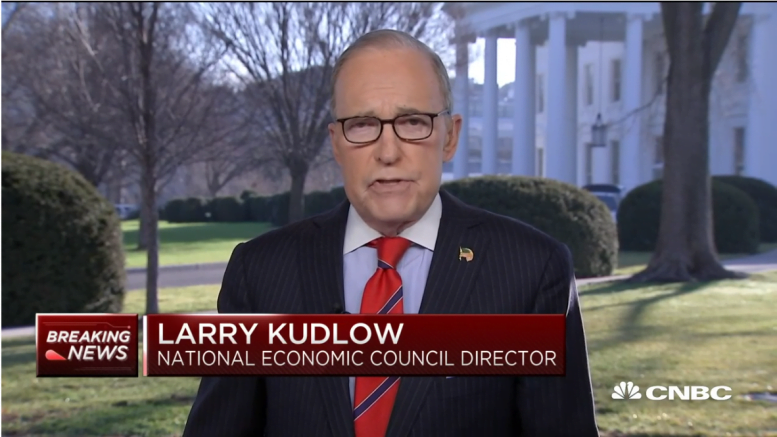 Director Lawrence Kudlow stimulus package bill