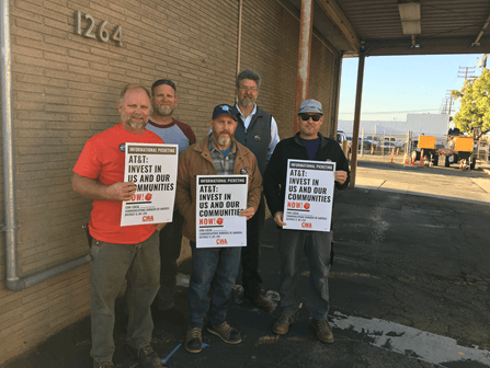 CWA-represented AT&T workers
