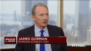 financial services industry Morgan Stanley Chairman and CEO James Patrick Gorman