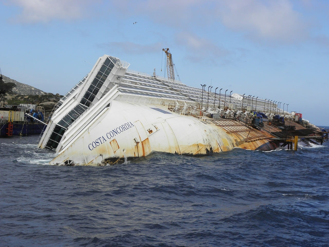 Costa Concordia syndrome