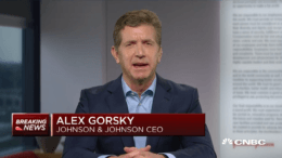 Johnson & Johnson CEO Alex Gorsky coronavirus vaccine